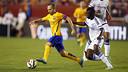Iniesta, contra el Chelsea / MIGUEL RUIZ-FCB