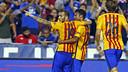 Sandro scored the second for Barça / MIGUEL RUIZ - FCB