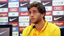Sergi Roberto, en la rueda de prensa / MIGUEL RUIZ-FCB