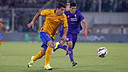Luis Suárez scored FC Barcelona's only goal against Fiorentina on Sunday 2 August 2015. / MIGUEL RUIZ - FCB