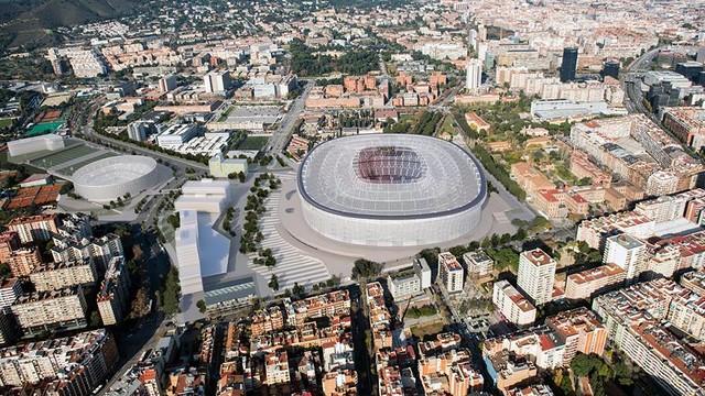 A virtual image of the Espai Barça / FCB