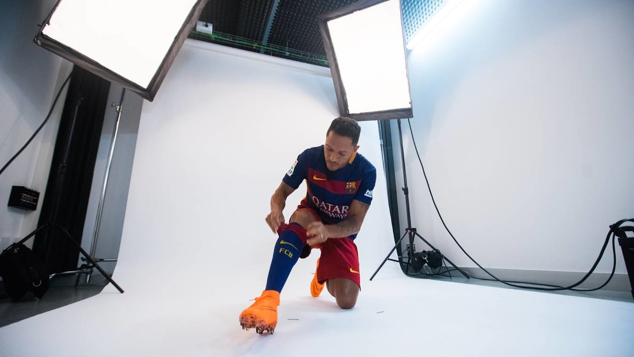 Adriano, abans de fer-se les fotografies / LUCAS GARRIDO