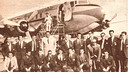 The FC Barcelona team pictured during the 1953 summer tour / FCB