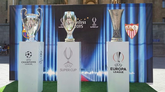 The Champions League, Europa League and Super Cup on display / FCB