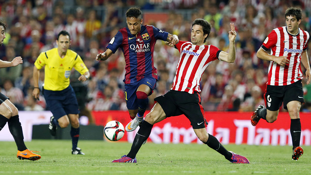 FC Barcelona and Athletic Club Bilbao square off once again, this time in the Spanish Super Cup. / FCB