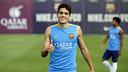 Bartra, durante el entrenamiento / MIGUEL RUIZ - FCB