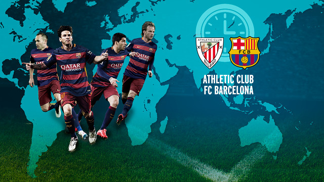 FC Barcelona begin their title defence versus Athletic Club on Sunday at 6.30pm CET. / FCB