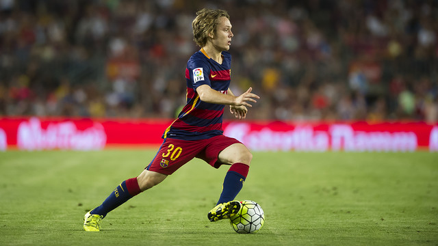 Alen Halilovic playing at the Camp Nou for the first time in the Joan Gamper / VÍCTOR SALGADO - FCB