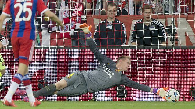L'arrêt de Ter Stegen, le meilleur de la Ligue des Champions  2014/15 / MIGUEL RUIZ - FCB