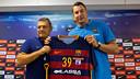 Filip Jicha, new signing of FC Barcelona Lassa / Germán Parga - FCB