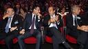 Josep Maria Bartomeu, pendant la cérémonie / MIGUEL RUIZ-FCB