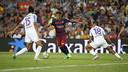 Neymar, durant el partit contra el Màlaga / MIGUEL RUIZ - FCB