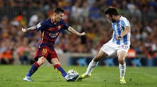 صور مباراة برشلونة ضد مالقة