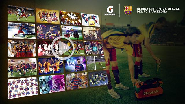 Gatorade and Barça