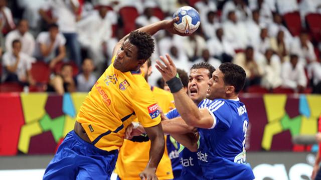 Jallouz top scorer against Al Ahly / STEPHANE PILLAUD - IHF