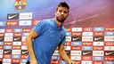 Gerard Piqué, en conférence de presse / MIGUEL RUIZ-FCB