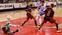 Cristian in action against Zaragoza / RUBÉN LOSADA - D-LINK ZARAGOZA