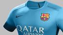 La nouvelle tenue du FC Barcelone / FCB