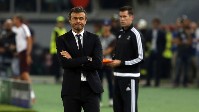 Luis Enrique fears that Rafinha's injury could be a bad one / MIGUEL RUIZ - FCB
