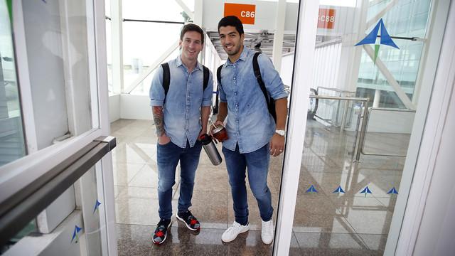 «Барселона» прибыла в Виго