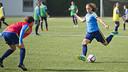 Alexia Putellas en un acció de l'entrenament / VÍCTOR SALGADO - FCB