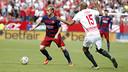 Ivan Rakitic, in Saturday's game at Sevilla / MIGUEL RUIZ-FCB