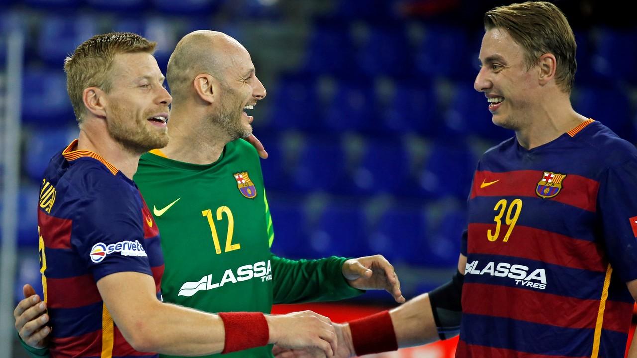 El Barça, a un pas del rècord de victòries consecutives a l'Asobal / GERMAN PARGA - FCB