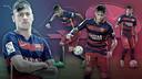 Les estadístiques de Neymar, en diferents gràfics / FOTOMUNTATGE FCB