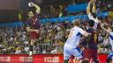 Kiril Lazarov face à Montpeller / VICTOR SALGADO - FCB