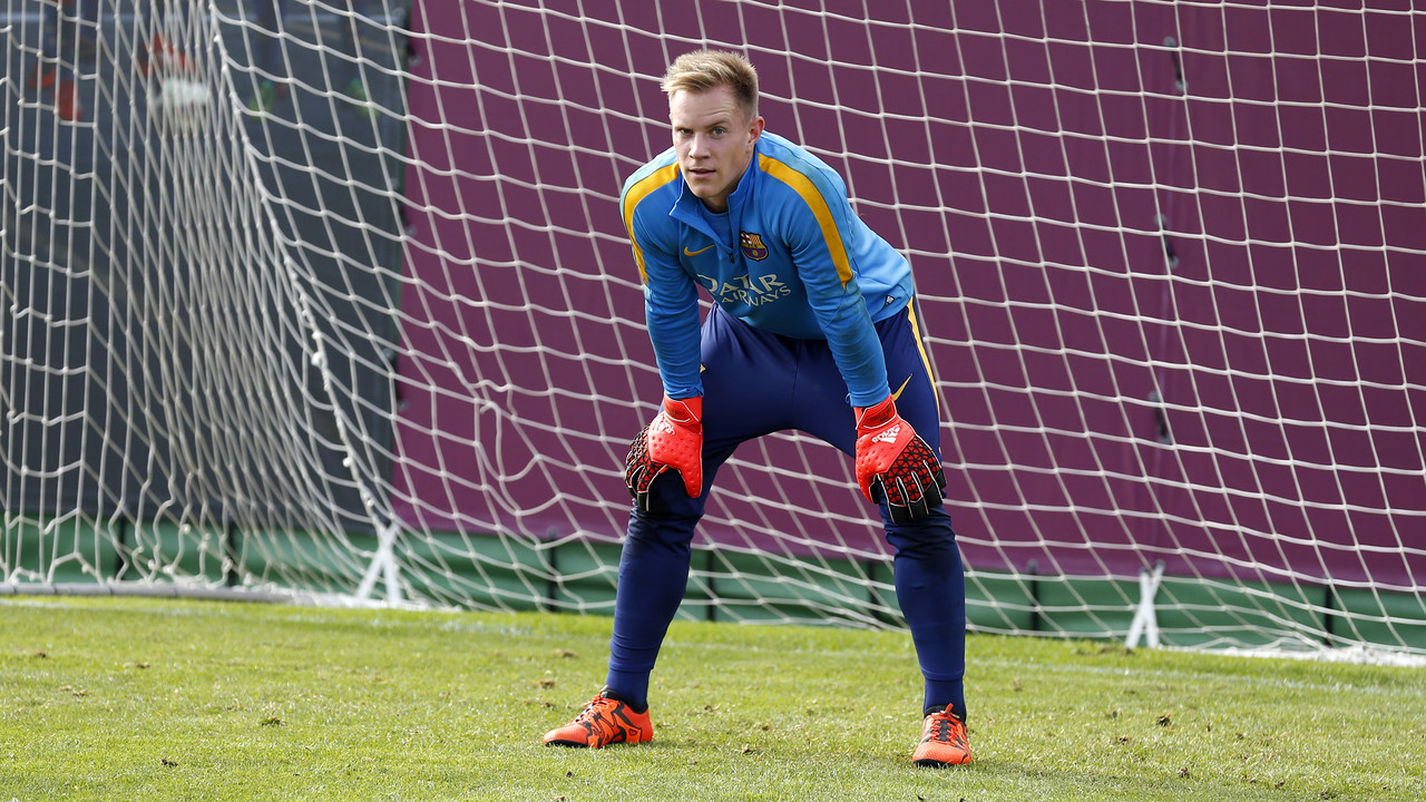 Marc-André ter Stegen has returned to training with the first team / MIGUEL RUIZ - FCB