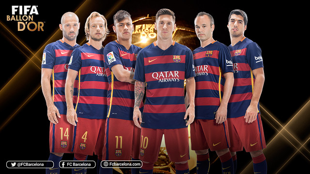 Messi, Neymar, Luis Su...