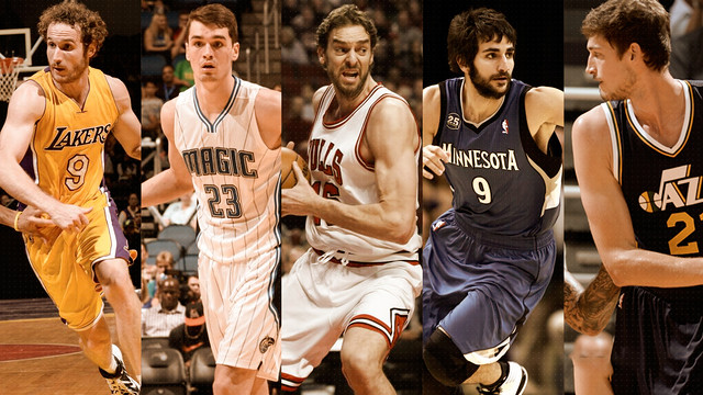 Former blaugranes in the NBA this season
