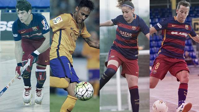 There is activity in football and other sports this weekend at FC Barcelona / FCB