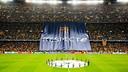 Le tifo 'Respecte' déployé au Camp Nou / GERMÁN PARGA-FCB