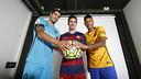 Suárez, Messi i Neymar són els protagonistes de la Revista Barça de l'octubre / MIGUEL RUIZ - FCB