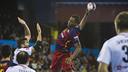 Wael Jallouz had a game-high 12 goals for FC Barcelona Lassa on Saturday night. / VICTOR SALGADO - FCB