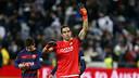 Bravo made seven fine saves to denyl Madrid from scoring / MIGUEL RUIZ - FCB