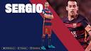 Sergio Busquets, 350 partidos desde su debut / FCB