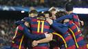 El Barça ha vuelto a exhibirse y ya está en los octavos de final de la Champions / VÍCTOR SALGADO - FCB