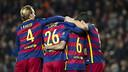 18 goles en cinco partidos, poderío ofensivo / VICTOR SALGADO - FCB