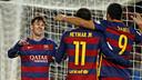 Messi, Neymar & Suárez, unstoppable / MIGUEL RUIZ - FCB