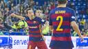 El Barça Lassa ha marcat 19 gols en tres partits al desembre / Foto: VÍCTOR SALGADO