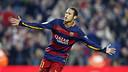 Neymar Jr celebrates against Villarreal / MIGUEL RUIZ- FCB