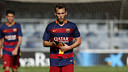 Alejandro Grimaldo was captain of Gerard López's side / MIGUEL RUIZ - FCB