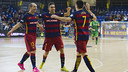 Dyego, Aicardo and Wilde all scored in a big win / VÍCTOR SALGADO - FCB