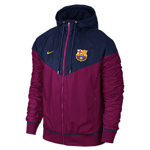 NEW FC BARCELONA AUTHENTIC WINDRUNNER JACKET
