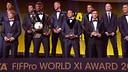 4 blaugranas dans le onze idéal de la FIFA en 2015