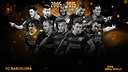 The 10 players who have represented FC Barcelona in the FIFA FIFPro World XI