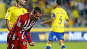 Griezmann scored twice in Atlético's 3-0 win at Las Palmas / clubatleticodemadrid.com