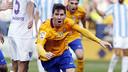 Leo Messi après un but / MIGUEL RUIZ - FCB